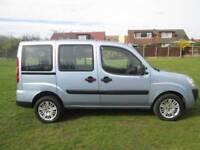 Fiat Doblo 1.3 Multijet 16v Family 5dr Good / Bad Credit Car Finance (blue) 2009
