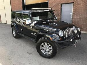 JEEP WRANGLER UNLIMITED SAHARA 2009 AUTO / MAGS !!