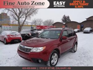 2009 Subaru Forester X Limited AWD Leather Sunroof Heated Seats