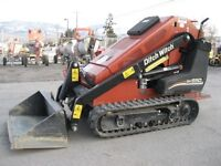 Wanted ! Toro dingo , ditch witch , bobcat mini skidsteers