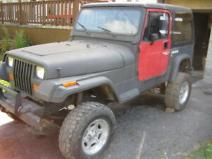 1992 Jeep TJ Coupé (2 portes)