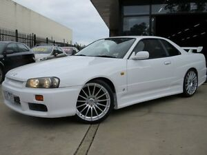 1999 Nissan Skyline R34 GT 4 Speed Automatic Coupe Seaford Frankston Area Preview