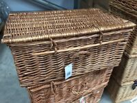 New 20 inch wicker baskets for sale (3 available)