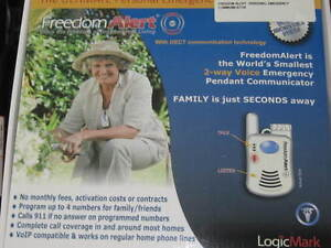 Freedom Alert Personal Emergency (CALL AND TALK) Device