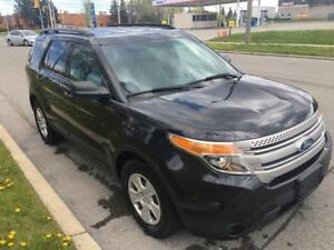 2012 FORD EXPLORER, V6, ACCDNT FREE, CERTIFIED
