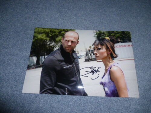 BAI LING signed Autogramm In Person 20x30 cm CRANK Jason Statham