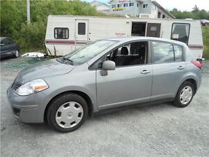 2009 NISSAN VERSA , ONLY 113000 KM , A/C, NEW MVI, WARRANTY !!!!
