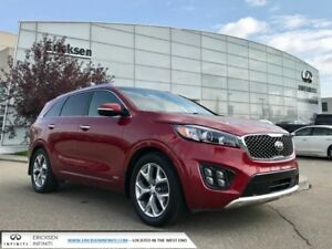 2016 Kia Sorento 3.3L SX+/ALL WHEEL DRIVE/BLIND SPOT/360 BACK UP