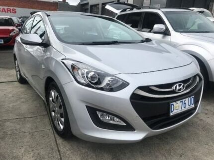 2014 Hyundai i30 GD3 Series II MY16 Active Silver 6 Speed Sports Automatic Hatchback North Hobart Hobart City Preview