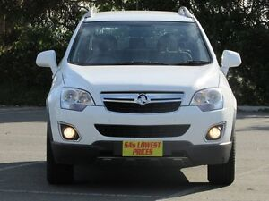 2013 Holden Captiva CG MY13 5 AWD LT White 6 Speed Sports Automatic Wagon Blair Athol Port Adelaide Area Preview