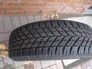 4 winter tires Goodyear ultra 215/55r17