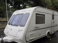 Compass Rallye Two Berth Touring Caravan With Motor Mover Plus Awning
