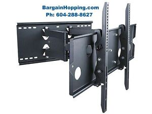 "36""-80"" Full Motion Tilting Swiveling TV Bracket Wall Mount"