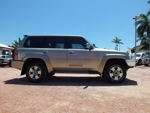 2010 Nissan Patrol GU 7 MY10 ST Gold 4 Speed Automatic Wagon Rosslea Townsville City Preview