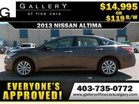 2013 Nissan Altima 2.5S $119 BI-WEEKLY APPLY NOW DRIVE NOW