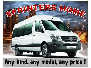 DODGE/MERCEDES SPRINTER DIESEL CARGO VANS ON SALE !!!