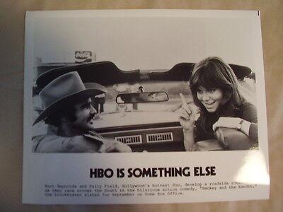 HBO PHOTO 1980s Smokey & The Bandit with Burt Reynolds & Sally Fields