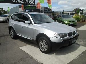 2005 BMW X3 E83 2.5I Silver 5 Speed Auto Steptronic Wagon Hoppers Crossing Wyndham Area Preview