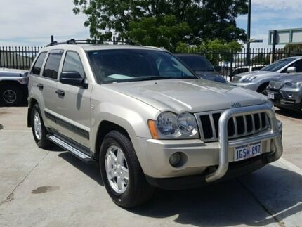 2008 Jeep Grand Cherokee WH MY2007 Laredo Grey 5 Speed Automatic Wagon St James Victoria Park Area Preview