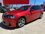 2012 Holden Commodore VE II MY12 SV6 Sportwagon Red 6 Speed Sports Automatic Wagon Ravenhall Melton Area Preview