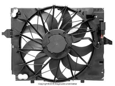 BMW 550i 650i (2006-2010) Cooling Fan Assembly with Shroud GENUINE + Warranty