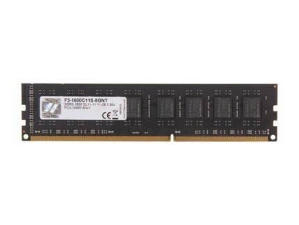 8GB DDR3 1600 MHz Desktop Ram