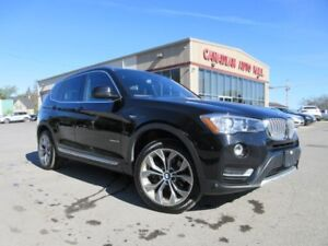 2017 BMW X3 xDrive28i, NAV, ROOF, LEATHER, 35K!