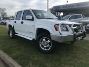 2009 Holden Colorado RC MY09 LX (4x4) White 5 Speed Manual Crew Cab Pickup Young Young Area Preview
