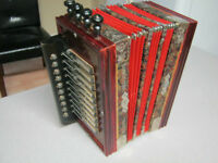 old accordion squeezebox
