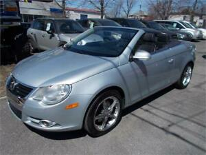 2007 Volkswagen Eos 2,0 Turbo Convertible Toit-Panoramique