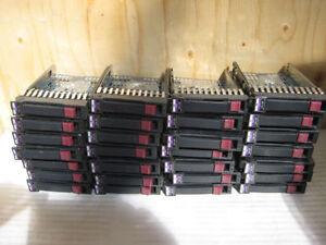 "HP PROLIANT SERVERS SAS 2.5""/3.5'' HDD Caddy / Tray / Tiroir"
