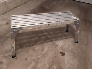 Ladder foldable - bench type