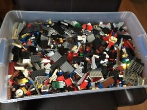LEGO Bin of Assorted Bulk Lego (Over 25 pounds)