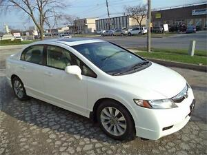 2009 Honda Civic Sdn EX-L TOP OF THE LINE LEATHER ACCIDENT FREE