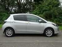 TOYOTA YARIS 1.5 T4 HYBRID 5d AUTOMATIC (silver) 2013