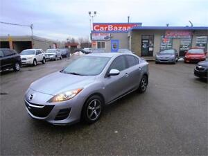 2010 MAZDA MAZDA3 4 CYL CLEAN LIKE NEW EASY FINANCING AVAILABLE