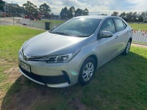 2018 Toyota Corolla ZRE172R Ascent S-CVT Silver 7 Speed Constant Variable Sedan Prospect Prospect Area Preview