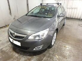 VAUXHALL ASTRA J BONNET GREY 2010 2011 2012 USED ( BREAKING SPARES )