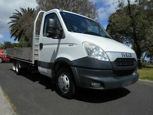 2012 Iveco Daily 45C17 White 6 Speed Manual Cab Chassis Preston Darebin Area Preview