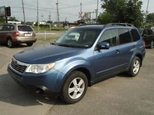 2010 Subaru Forester 2.5X at (Jan 10)