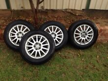 Volkswagen golf wheels and new tyres Green Valley Liverpool Area Preview