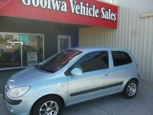 2006 HYUNDAI 3 DOOR GETZ TB UPGRADE. 1.6 LT MOTOR. Goolwa Alexandrina Area Preview