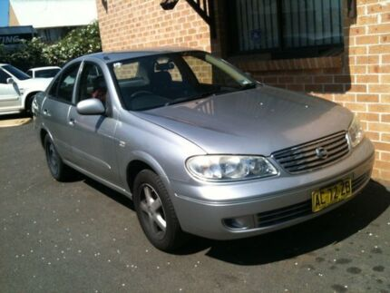 2005 Nissan Pulsar N16 MY04 ST Silver 4 Speed Automatic Sedan Woodbine Campbelltown Area Preview