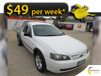From $49 Per Week* -  2005 Ford Falcon RTV Available on Finance