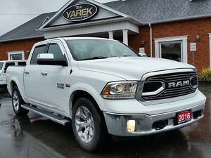 2016 Ram 1500 Limited 4x4, Heated/Vented Seats, NAV, Back UP Cam