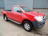 Toyota Hilux HL2 2.5 D4D single cab 4WD pick up 2010 10 reg