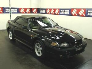 2000 Ford Mustang MY00 Cobra Black 5 Speed Manual Convertible Cardiff Lake Macquarie Area Preview