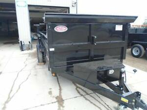 LARGEST DUMP IN THE INDUSTRY 7' X 16' BED - 7 TON IN STOCK NOW London Ontario image 2