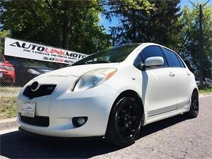 2007 TOYOTA YARIS RS SPORT HATCHBACK AUTO A/C & MORE!