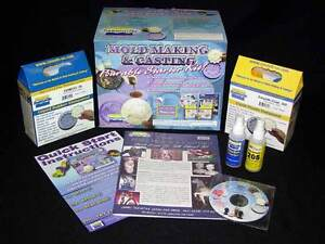 Resin mold making starter kit and 1lb molding clay